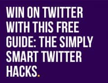 DOWNLOAD THESE TWITTER HACKS & BOOST YOUR RESULTS