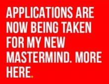MY NEW MASTERMIND STARTS IN APRIL. MORE HERE …