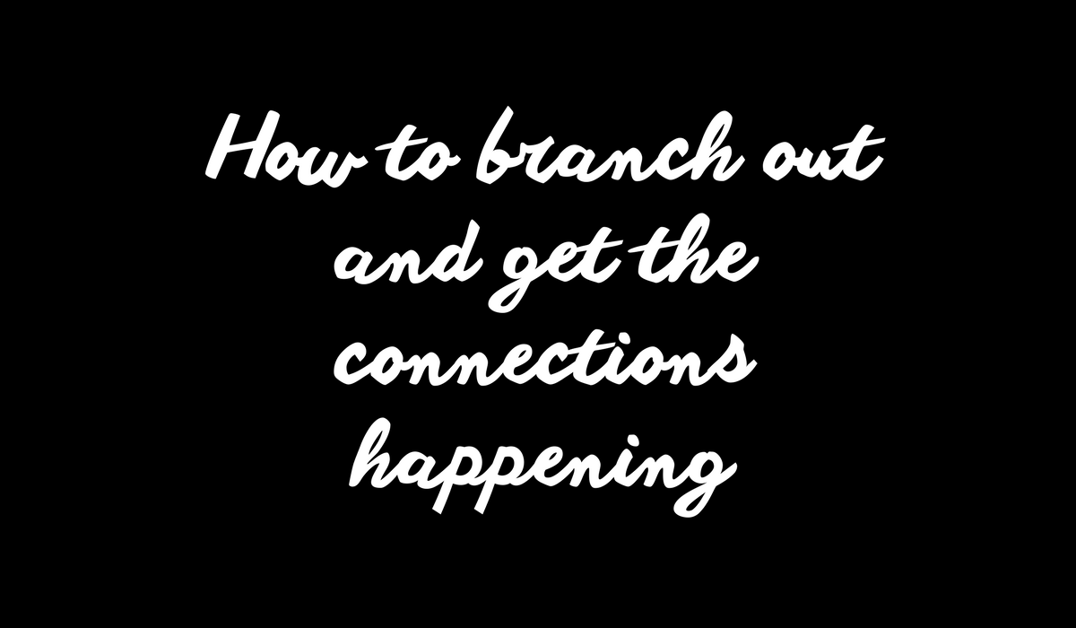 Build better online connections