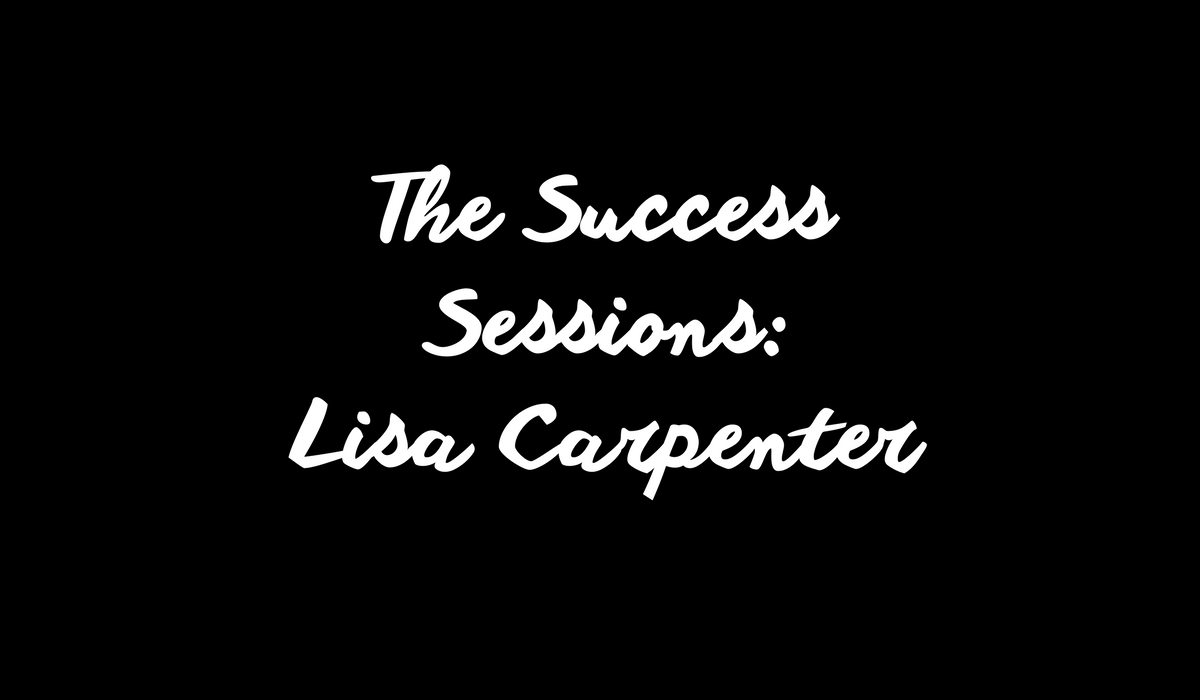 Finding true success with Lisa Carpenter