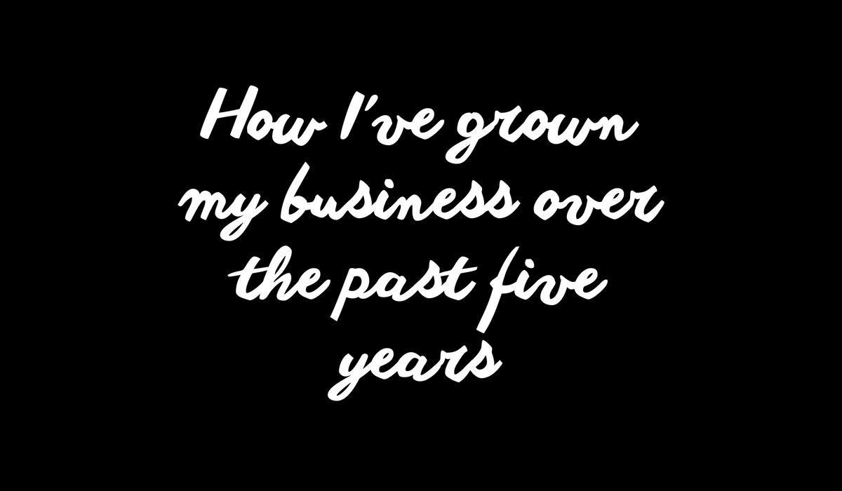 business results - income from the past 5 years