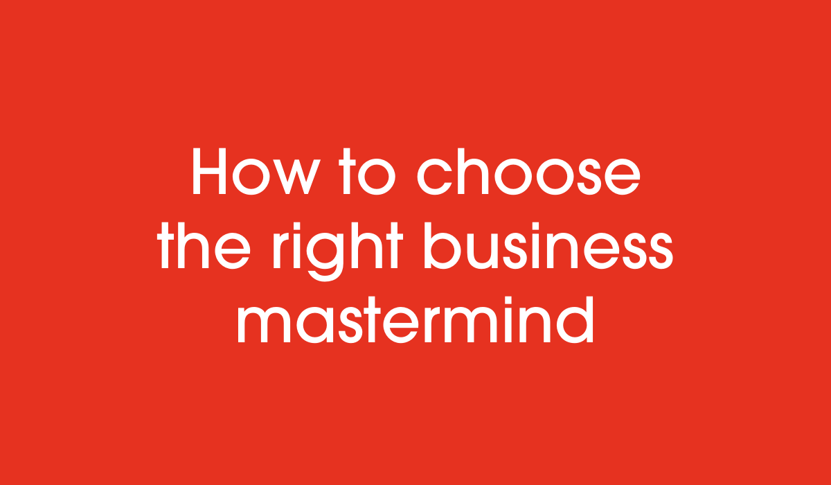 How to find a mastermind