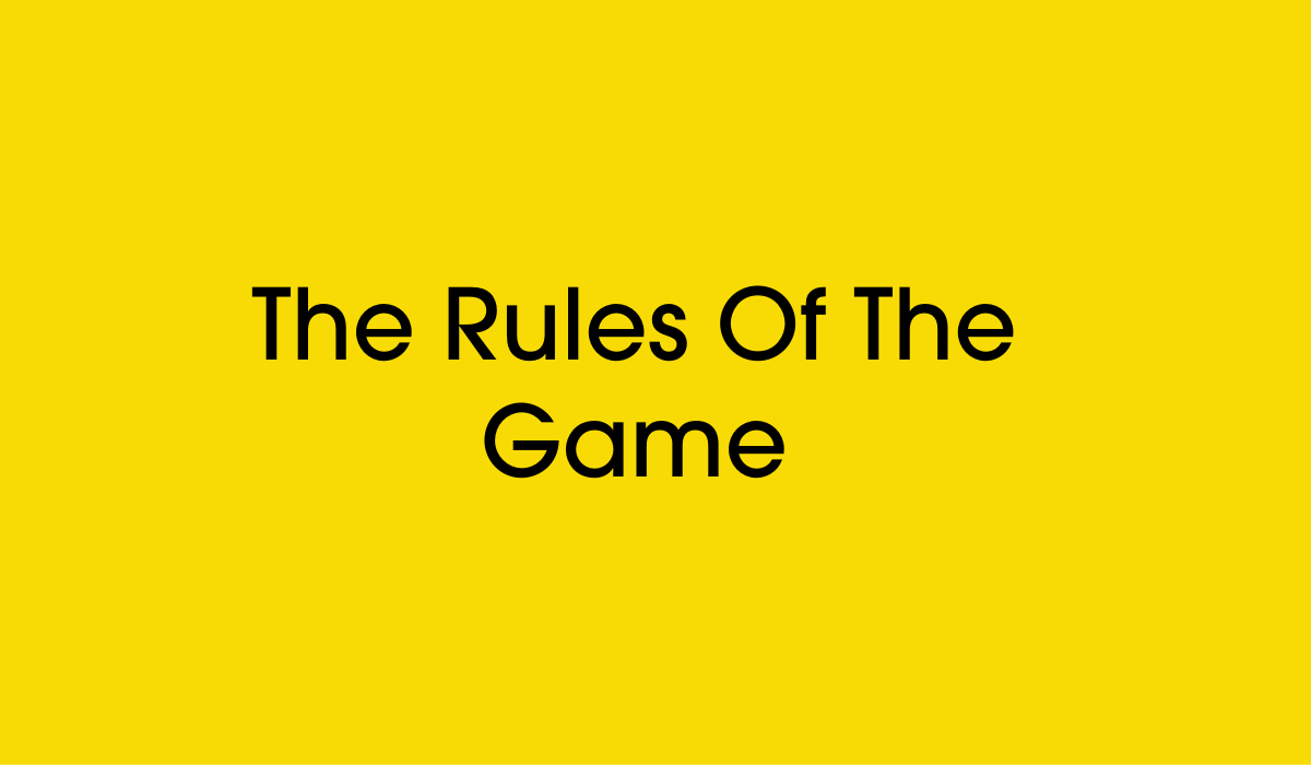small business owners rules of the game